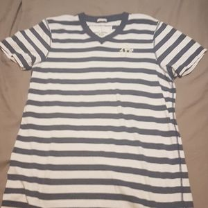2/$20 Abercrombie and Fitch v neck striped tee